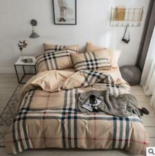 3D Brown Stripes ZHUB3035 Bed Pillowcases Quilt Duvet Cover Queen King Zoe