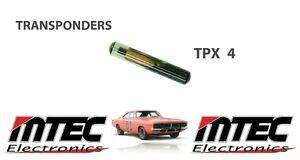 Chip Transponder Tpx4 Glass Ceramic Transponder