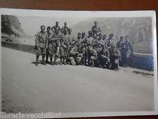 Vecchia foto d epoca fotografia gruppo soldati REGIO ESERCITO ITALIANO casse di