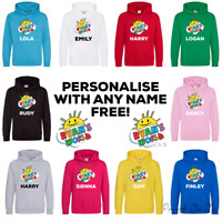 RYANS WORLD HOODIE RYANS TOY REVIEW PERSONALISED WITH ANY NAME GREAT XMAS GIFT