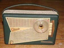 ancien poste transistor CORALY