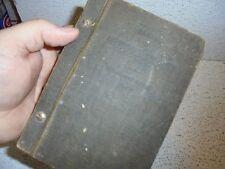 Vintage 1922 Automobile Casualty Book RARE