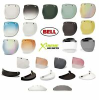 Bell Custom 500 3 Snap Shield Visor Universal Bubble DLX Retro Flip Flat 510 520