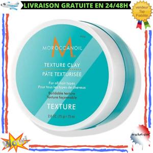 Pâte Texturisante Unisexe Coiffure Naturelle Fixation Cheveux Parfum Floral 75ml
