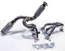 OBX Stainless Steel Header For 2005 2006 2007 2008 Eclipse V6 3.8L 6cyl MiVEC