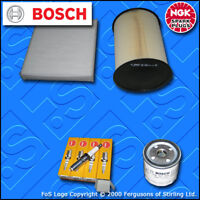 SERVICE KIT for FORD FOCUS MK2 1.4 16V OIL AIR CABIN FILTERS PLUGS (2007-2010)