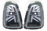 LED Tail Lights For 2006-2009 Mini Cooper R56 R57 R58 R59 - UNION JACK SMOKE