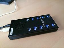 Sipolar 10 Port USB Professional Mining Hub 10.5W per Port 21A @ 5V 120W USB 3.0