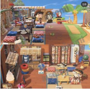 New Horizons: 🌿118pcs Rare Japanese Out Door Beach theme set + design code 🌴
