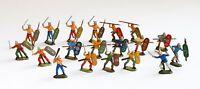 Revell Soldaten, 02553 Kelts (Gauls) bemalt 1:72/OO,1994,Infanterie,Figuren
