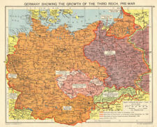 Map Of Germany In 1940.Antique European Maps Atlases Germany 1940 1949 Date Range For