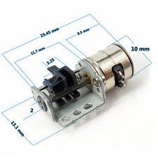 Dc 3v 5v 2 Phase 4 Wire Micro 10mm Stepper Motor Linear Screw Slider Block Nut