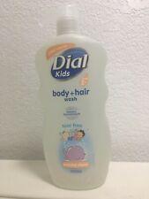 Dial Kids Body & Hair Wash Peachy Clean Tear Free 24 fl oz