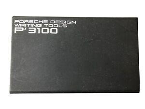 Porsche Design P 3100 Kugelschreiber Unbenutzt OVP