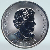 2016 CANADA UK Queen Elizabeth II w/ BISON 1 1/4 OZ Proof Silver $8 Coin i89438