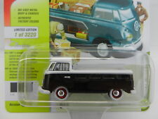 2018 Johnny Lightning *CLASSIC GOLD 1B* BLACK & WHITE 1965 VW Type 2 Pickup  NIP