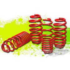 """1.5""""DROP RED SUSPENSION LOWERING SPRINGS F+R for 08-11 AUDI TT/QUATTRO"""
