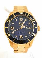 Ice-Watch 016762 Herren Armanduhr Design Quarz Uhr waserrdicht Edelstahl gold