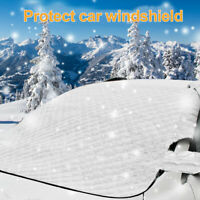 Pare-brise de voiture Couverture de givre Glace neige Protecteur miroir fenêtre