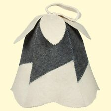 Wool Sauna Hat bell Bath Felt Protects the head from overheating Russian