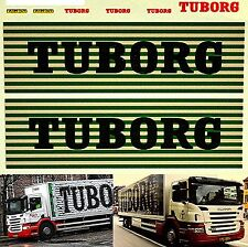 Scania TUBORG new design (DK) Beer distribuzione camion 1:87 Decalcomania
