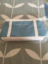 Ladies Light Blue Make Up Pouch Dolce & Gabbana