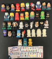 **GENUINE DC COMICS SERIES 1 OOSHIES COMPLETE SET**