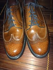 Vintage 70s 80s Mens Florsheim Imperial Wingtips 9.5 D Shoes USA