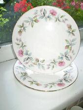 Duchess Bramble Rose Side Plates x 2 Floral Fine Bone China 1st Quality British