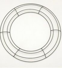 """14"""" Lot of 10 Round Metal Wreath Frame Ring DIY Macrame Floral Crafts Wire Form"""