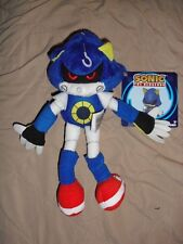 """metal sonic the hedgehog boom TOMY 8"""" plush toy figure stuffed new with tag"""