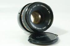 Vintage lens canon lens FD 50mm 1.8 S.C. Canon FD Mount ref. 22187