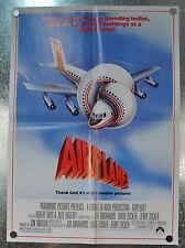 Airplane Original Mini Sheet Movie Poster 1980 17 x 24