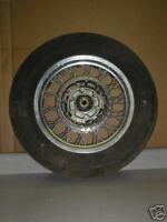 1989 Suzuki VS750 Intruder Used Rear Wheel #SW14