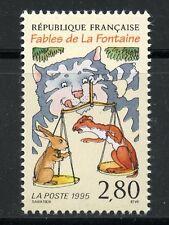 STAMP / TIMBRE FRANCE NEUF N° 2962 ** JEAN DE LA FONTAINE / FABLES