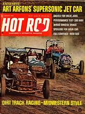 HOT ROD AUG 1968,FULL COVERAGE INDY INDIANAPOLIS 500,AHRA,AUGUST HOTROD MAGAZINE