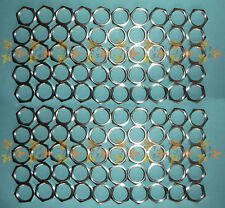 M12 x 0.75 fine pitch x 2mm thick Low Profile Nut x 100 Nuts NEW Stainless Steel