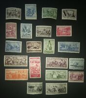 Russia USSR, complete set, rare, Peoples,MNH,MH,SC 2018#489-509,Zverev Cv$500.