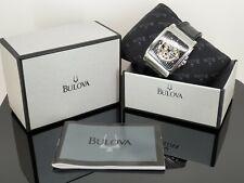 Bulova Automatic Watch 21 Jewel Skeleton Superb BOXED. NICE1
