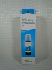 Cyan Replacement Refill Ink Bottle for Epson EcoTank T502 ET-4750 ET-3750