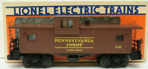 Lionel 6-19807 Pennsylvania Extended Vision Smoking Caboose EX/Box
