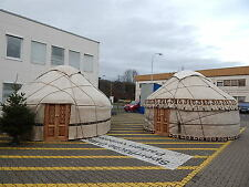 Yurt Traditional 5m 16,40' diameter with raincover, location Germany Handcrafted