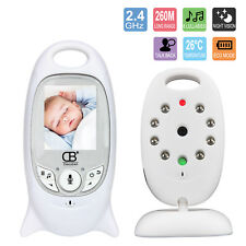 "2"" Genuine Baby Monitor 2.4GHz Color Audio Wireless Digital Video Night Vision"