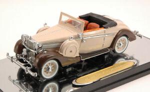 Maybach SW 38 Sport Cabrio 1937 Beige / Brown 1:43 Model SIGNATURE
