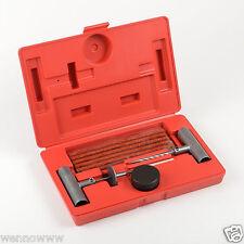 35pc Tire Repair Kit DIY Flat Tire Repair Car Truck Motorcycle Home Plug Patch