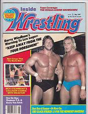 Inside Wrestling Magazine May 1987 Macho Man
