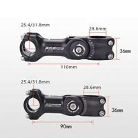 MTB Mountain Bicycle Stem Bike Cycling Handlebar Adjustable 0-60 Degree Riser
