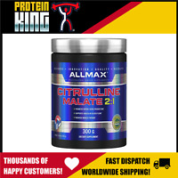 ALLMAX 300G CITRULLINE MALATE 2:1 PROMOTES NITRIC OXIDE PRODUCTION PUMPS ATP