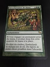 MTG MAGIC SHADOWMOOR MANA REFLECTION (FRENCH REVERBERATION DE MANA) NM