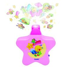 TOMY Starlight Dreamshow lettino mobile crib Soother Proiettore Luce Rosa t2013